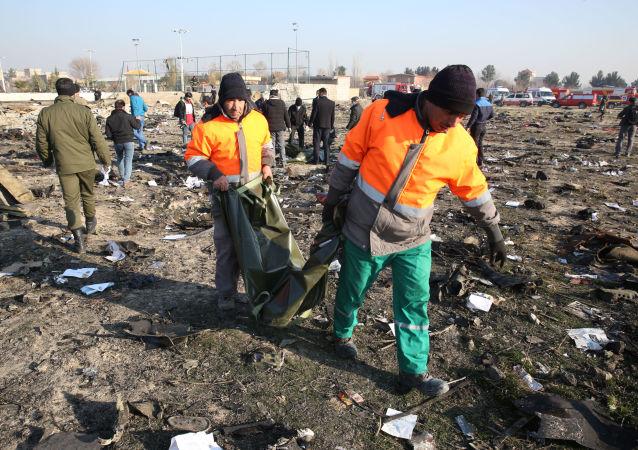 乌大使馆:无理由认为乌克兰客机在伊朗坠毁事件为恐怖袭击