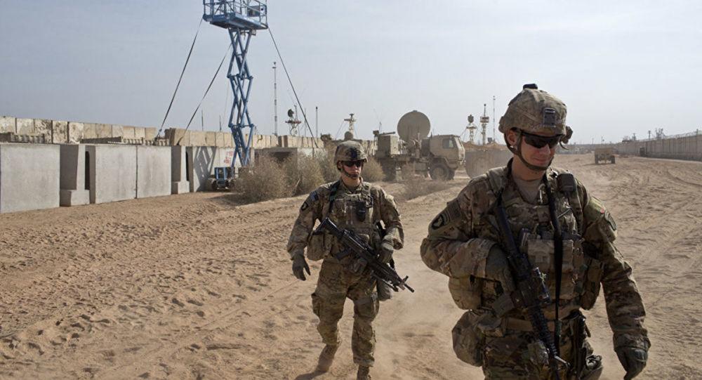 美国驻伊拉克部队