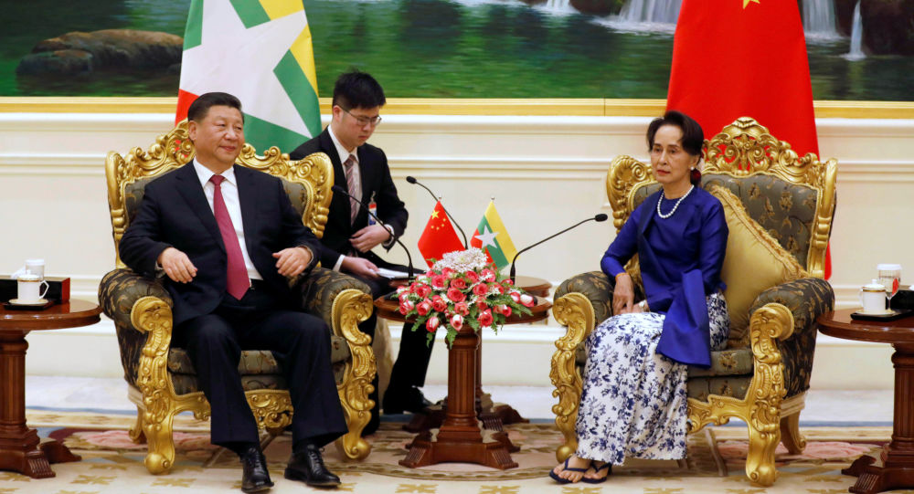 中国国家主席习近平于1月17日至18日对缅甸进行国事访问
