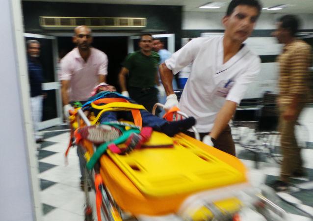 埃及一火車與大巴相撞致兩人死亡