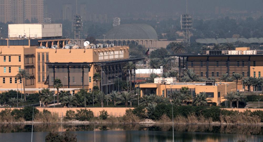 美國駐巴格達大使館