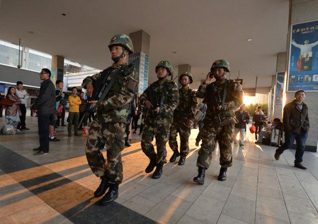 中国公安部:中国反恐斗争态势持续向好 连续四年多未发生暴恐案事件