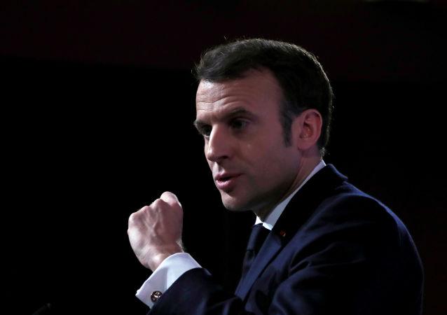 法国总统伊曼纽尔•马克龙