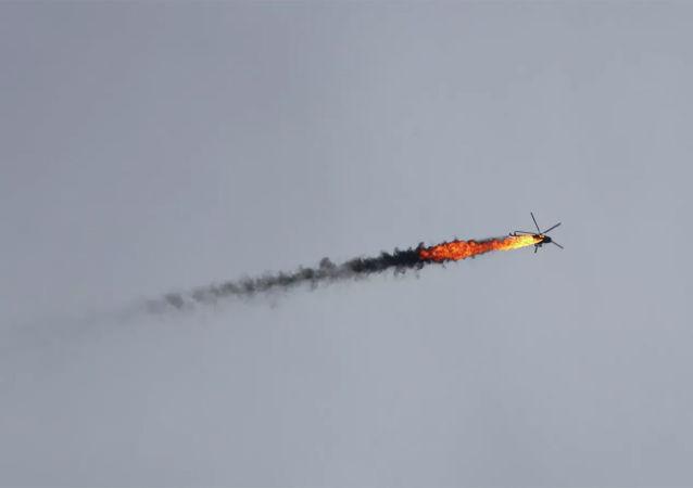 在伊德利卜被擊落的直升機上的所有人全部喪生