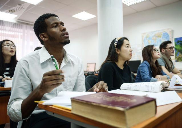 留学生在俄罗斯