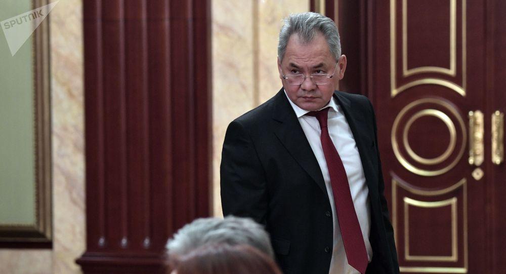俄羅斯國防部長謝爾蓋∙紹伊古