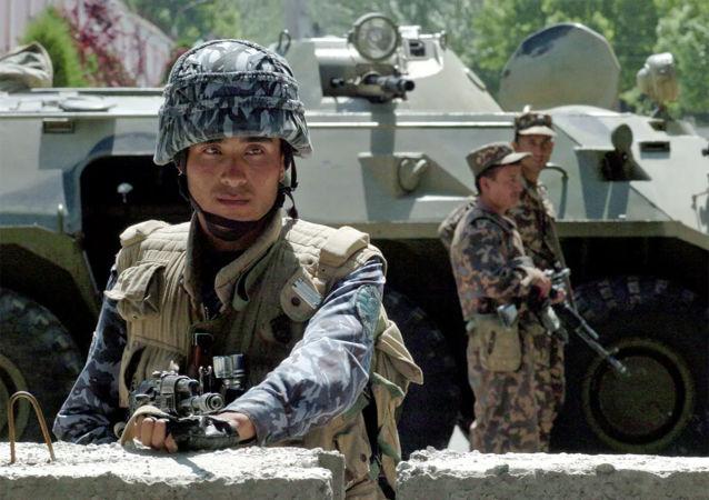 乌兹别克斯坦特种兵