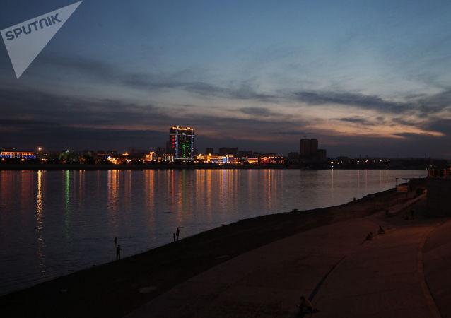 黑河市与俄阿穆尔州就中俄界江防汛工作举行线上会谈