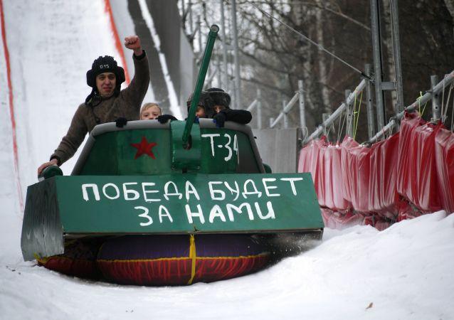 俄罗斯男人在祖国保卫者日收到的最不寻常的礼物是什么