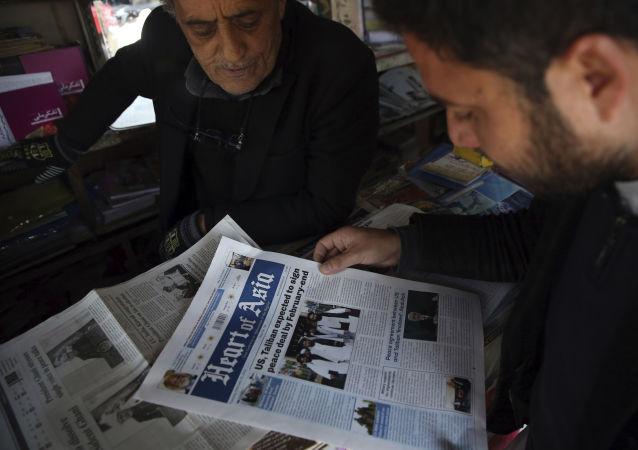 塔利班发言人:塔利班正在与喀布尔讨论阿富汗停火问题