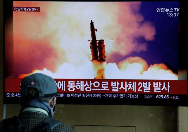 俄羅斯學者:朝鮮發射導彈後日本海未檢測到地震現象