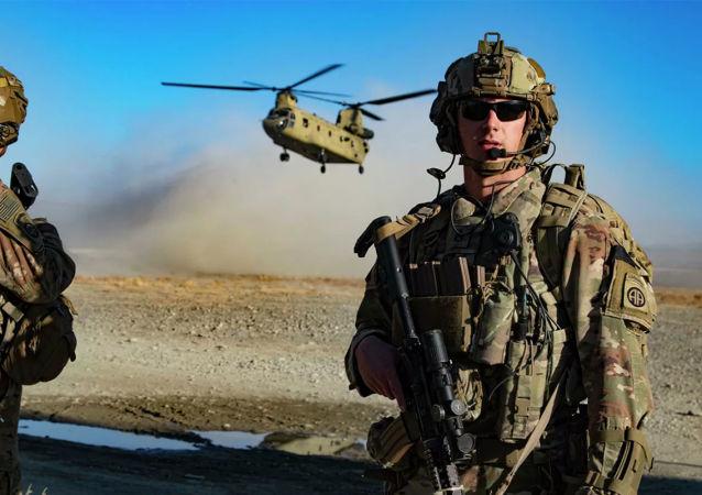 美国军人炸毁中情局在阿富汗除喀布尔机场之外的最后一个前哨