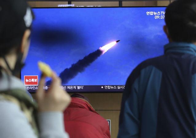 朝鮮試射的導彈飛行距離為430至450公里