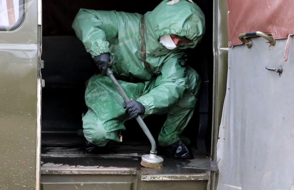 三防部隊檢查突發病毒傳染威脅的準備情況