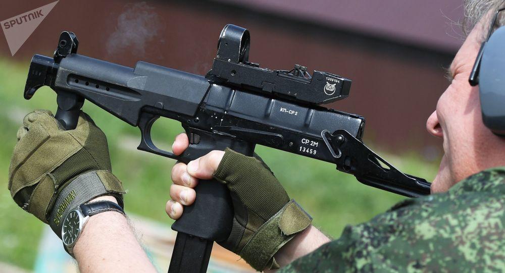 俄國家近衛軍將配備SR-2MP衝鋒槍