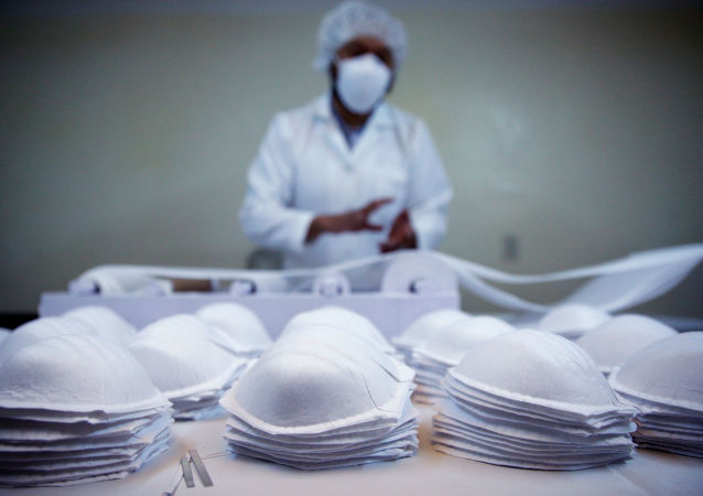 俄鞑靼斯坦共和国从中国引进的设备开始生产医用口罩