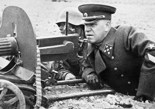 俄罗斯首次展示朱可夫的个人枪支