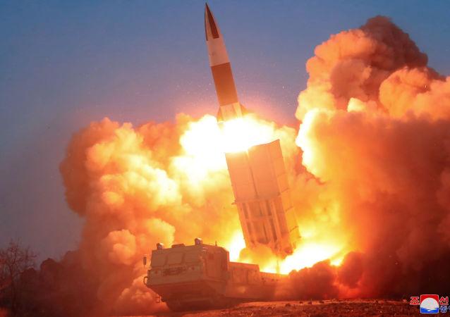 東京:朝鮮導彈未落入日本專屬經濟區