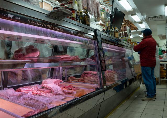 美国的肉类成为富人的食品