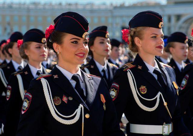 圣彼得堡胜利日阅兵式总彩排