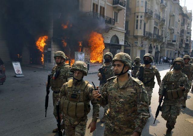 黎巴嫩軍人