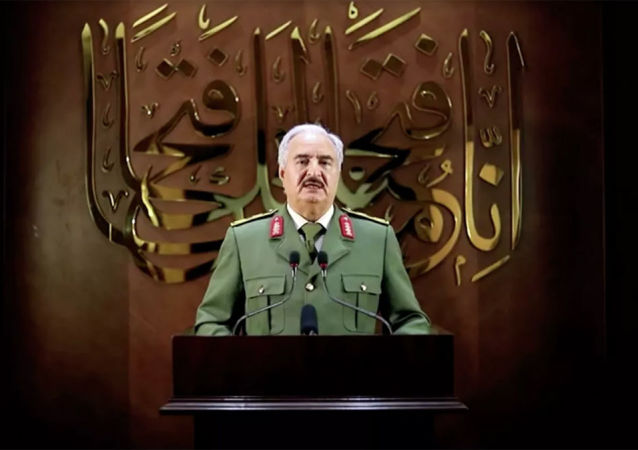 利比亞國民軍領導人哈夫塔爾