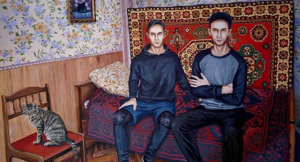 俄罗斯当代画家为抗击疫情一线医生提供支持