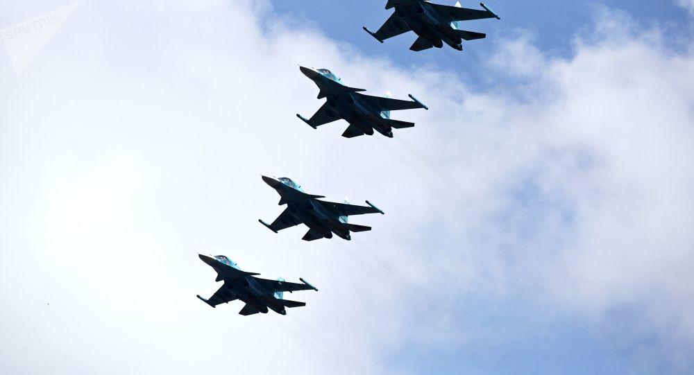 蘇-30SM機組人員在外貝加爾斯克開展複雜氣象條件飛行訓練