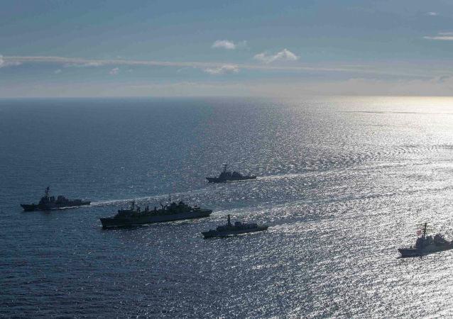 俄海军上将评论北约军舰现身巴伦支海