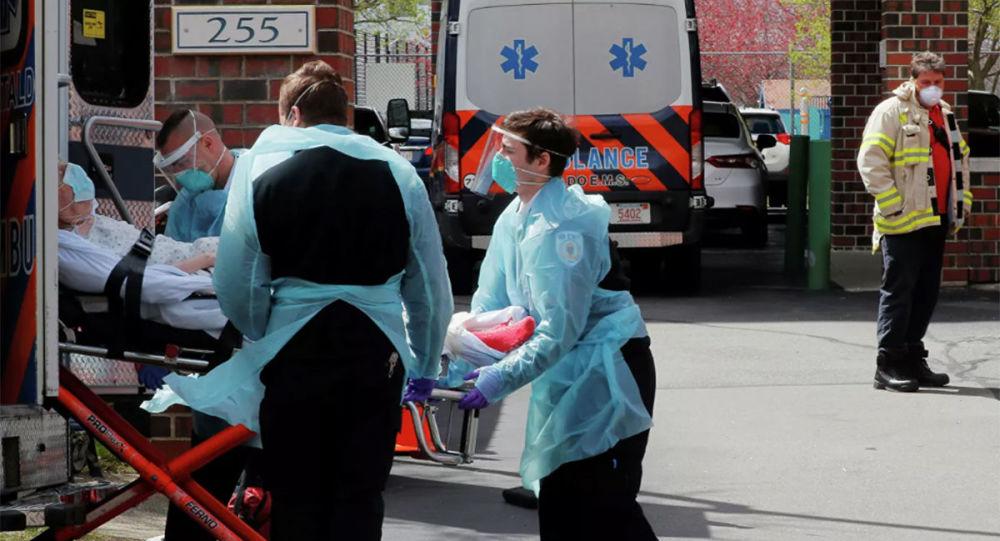 美國單日新增近4.5萬例新冠病毒確診病例