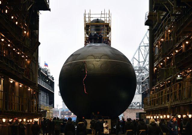 """俄罗斯B-603""""沃尔霍夫""""型柴电潜艇"""