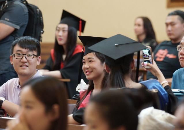 中国留俄学生举办首次云上新春联欢会