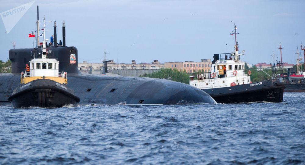 俄海军2021年将接收2艘北风之神-A型战略潜水艇 共接收32艘舰船