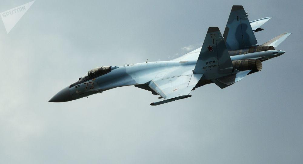 一架蘇-35S戰機