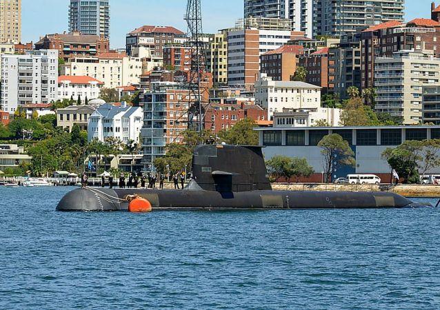 澳大利亚自产的柯林斯级柴电潜艇