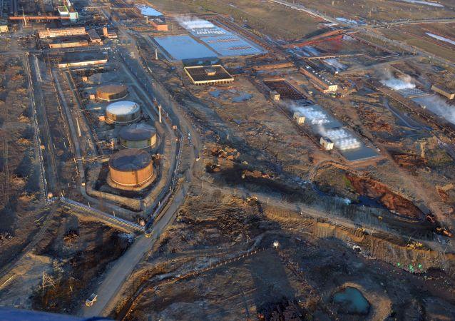 俄克拉斯诺亚尔斯克边疆区宣布诺里尔斯克市善后救灾关键阶段已过