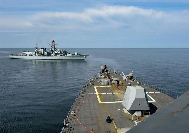 愛沙尼亞海軍兩艘軍艦參加北約「波羅的海行動」大型海軍演習
