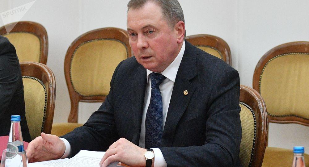 白俄罗斯外交部部长马克伊