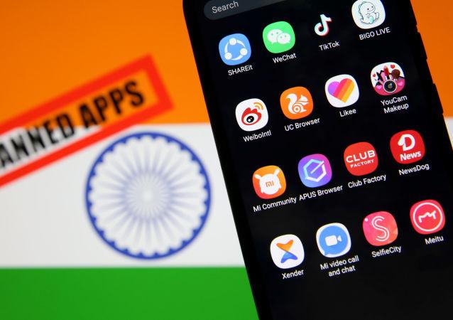 印度宣布将永久封禁包括TikTok在内的59款中国手机应用程序