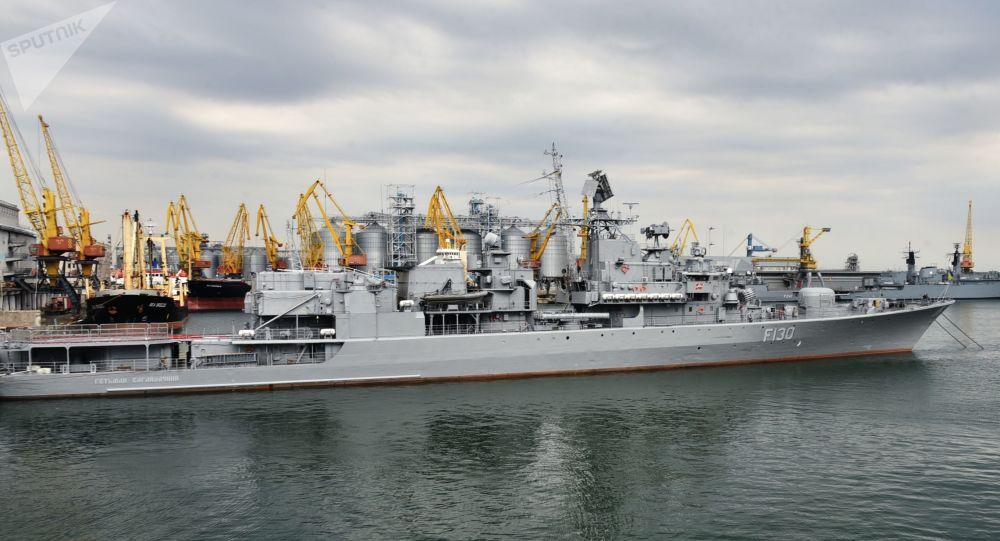 乌克兰敖德萨港口