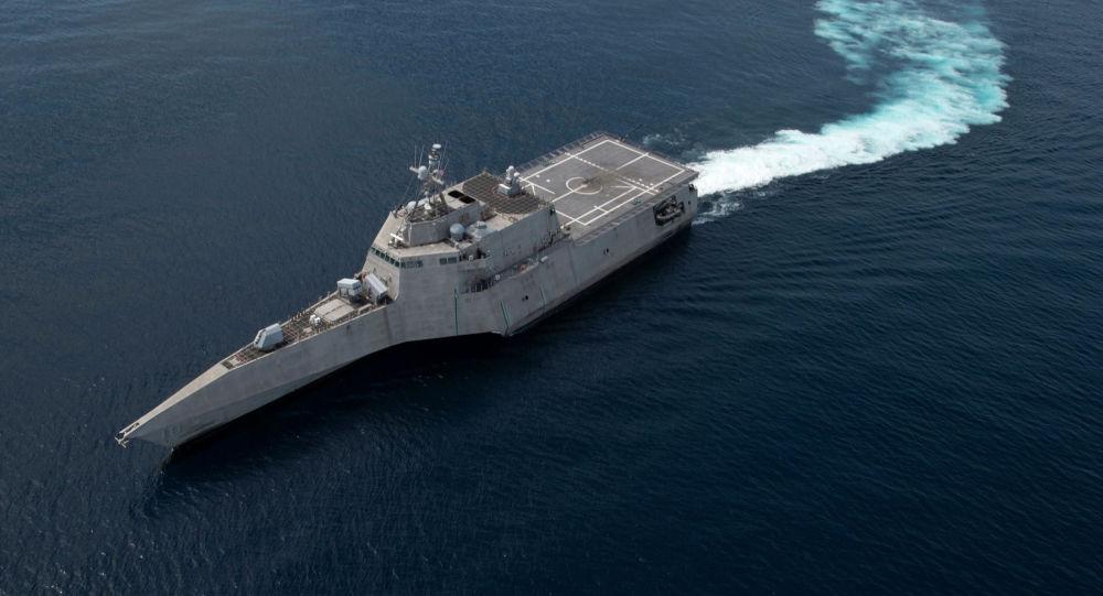 美國戰艦去年用掉導彈至今未補上