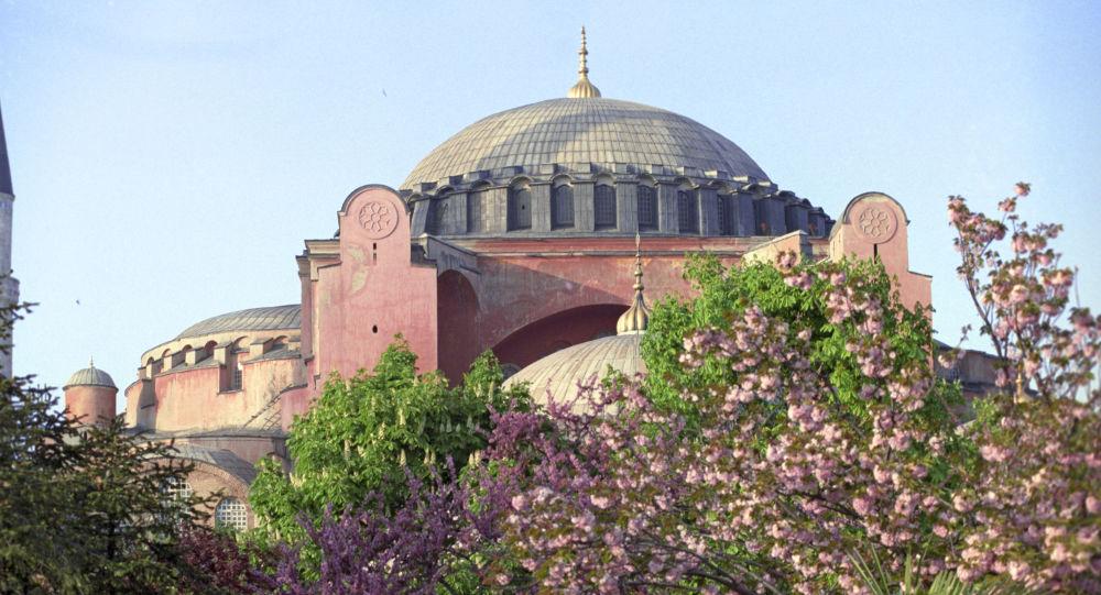 伊斯坦布尔圣索菲亚教堂博物馆